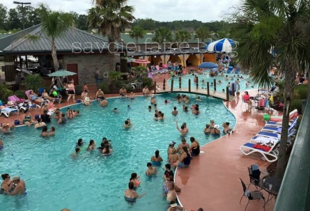 cajun palms main pool I savoie faire blog