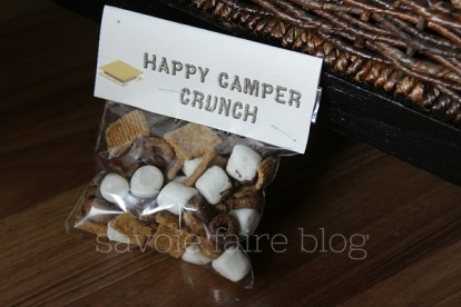 happy camper crunch I savoie faire blog