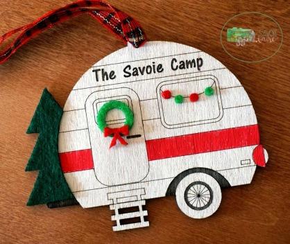 Savoie Camp Ornament I savoie faire